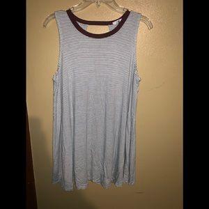 Soprano tee/tank can be worn as tee or tunic
